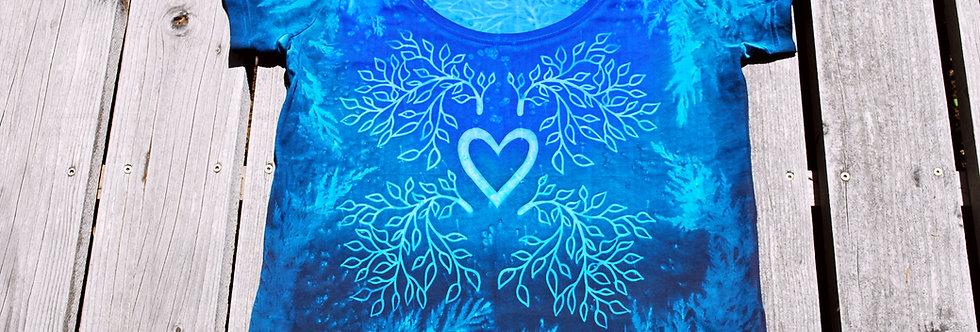 """""""Let your Love Grow""""-blues and greens"""
