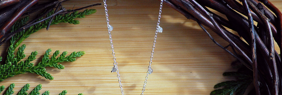 Labradorite Drop Starlight Necklace