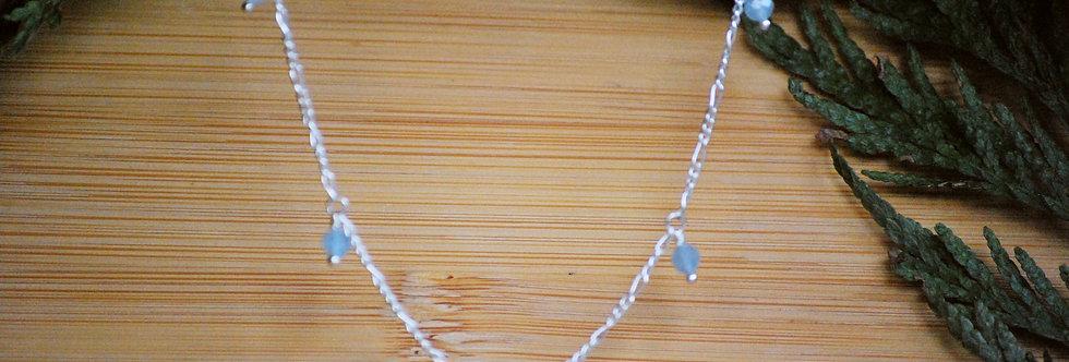 Aquamarine Starlight Necklace
