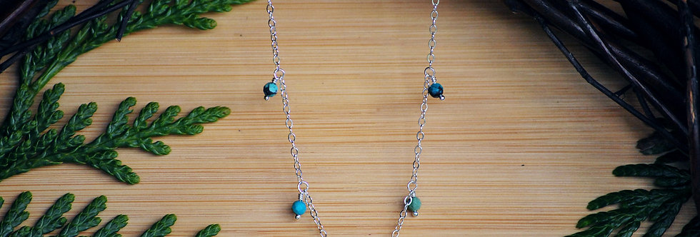 Turquoise Starlight Necklace