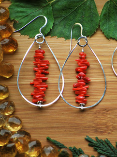 Coral,Citrine and Carnelian