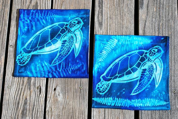 Sunpainted Sea Turtle banner