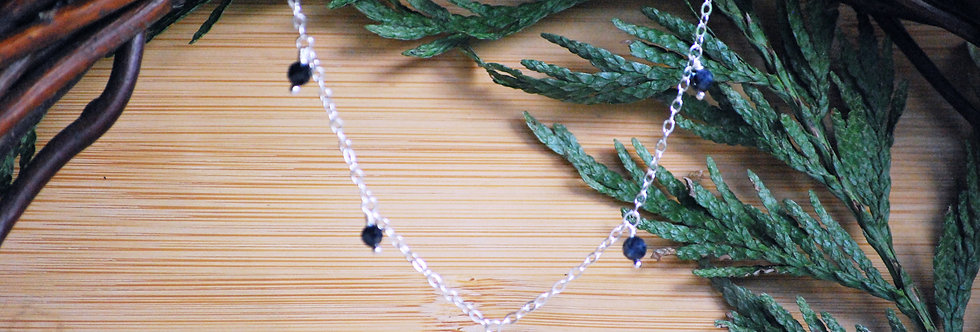 Sapphire Starlight Necklace