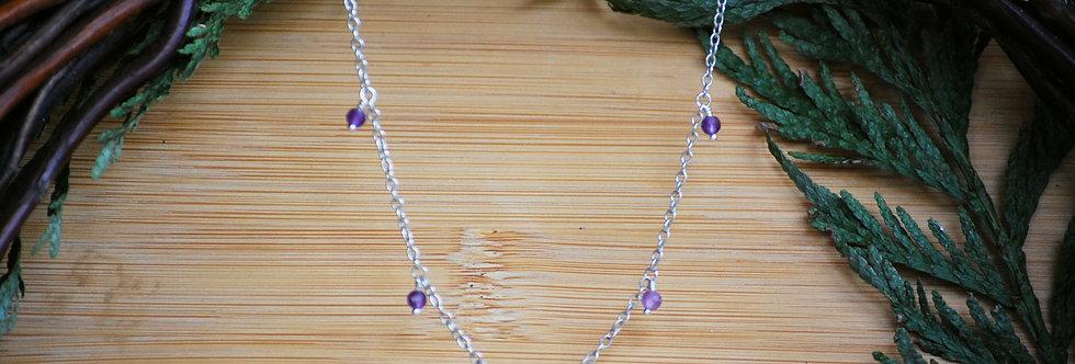 Amethyst Starlight Necklace