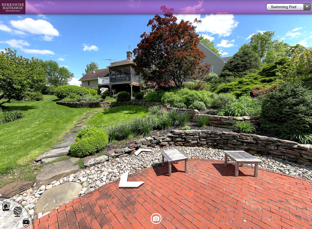 Real Estate Virtual House Tour for Berkshire Hathaway