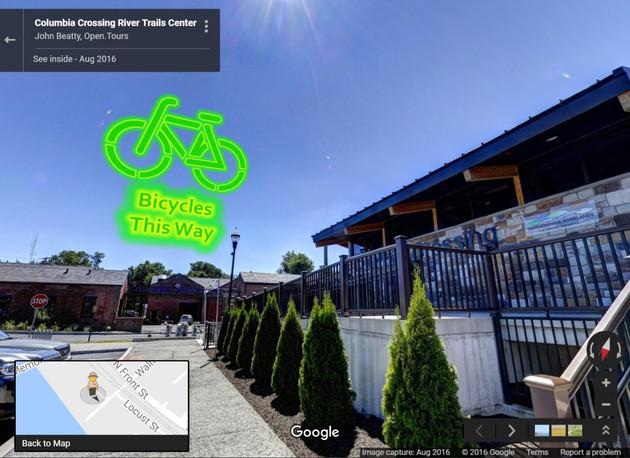 Columbia Crossing Google Tour
