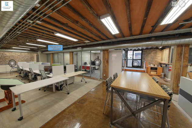 Lancaster Coworking Interactive Tour