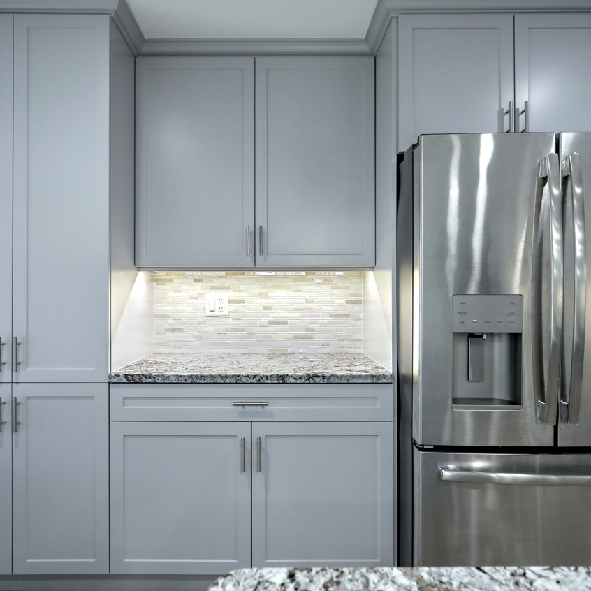 Kitchen remodeling photography