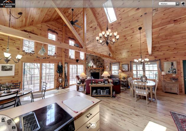 VR Log Cabin Home Tour