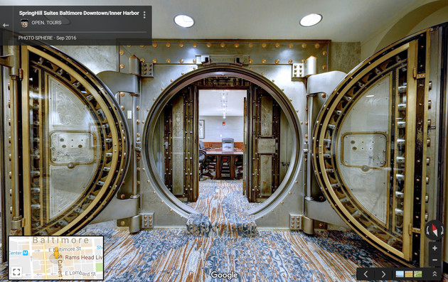 Converted Bank Vault Board-Room