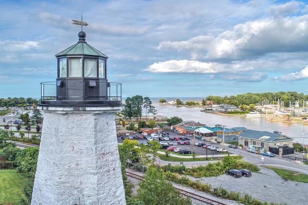 Aerial Lighthouse Photos