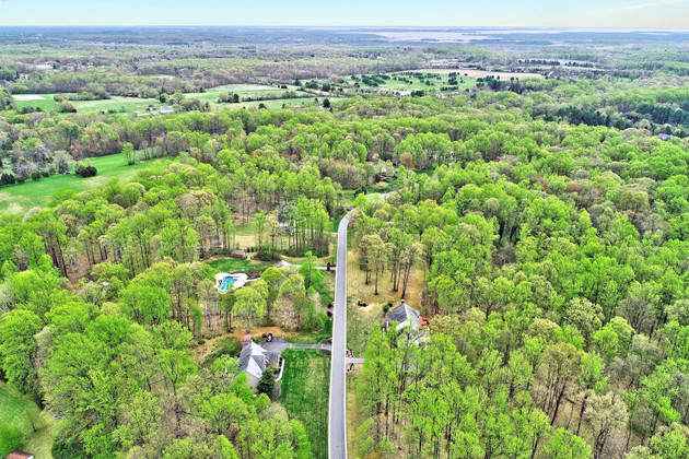 Aerial View in Kingsville, MD