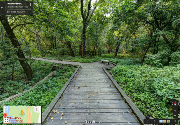 Boardwalk at Wildwood Park, Harrisburg