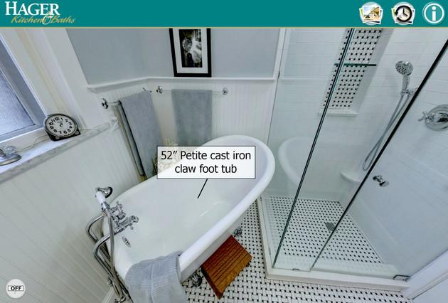 Interactive Bathroom Remodel Tour
