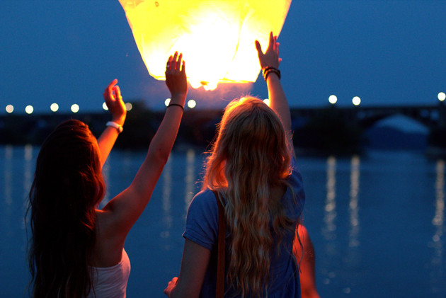 Lantern Release Wish Party