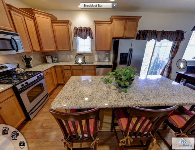 360 Virtual Tour for House Broker Realty