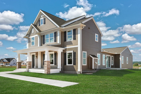 Model Home Photography in Ephrata, PA