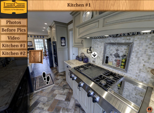 Landis Custom Cabinetry Kitchen Tours