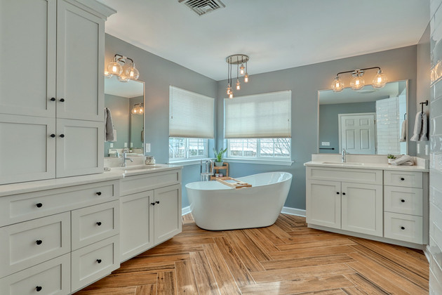 Bathroom Remodel Photography for LB Interiors