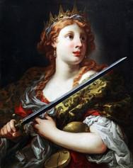 Fig. 9 Pietro Dandini, Allégorie de la Justice, Toile, collection privée