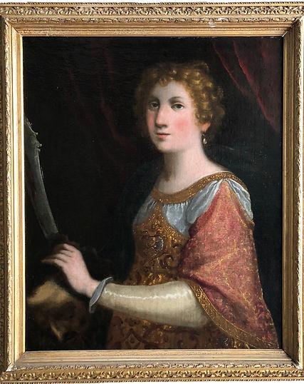 portrait judith et holopherne peinture par Ottaviano Dandini peintre à Florence