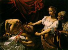 Fig.1 Caravage, Judith et Holopherne, (1599-1602), Toile, 145 cm x 195 cm, Rome, Galleria Nazionale d'Arte Antica (Palazzo Barberini)