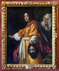 Fig. 2 Cristofano Allori, Judith et Holopherne, Toile, 139 cm x 116 cm, Florence, Galleria Palatina di Palazzo Pitti
