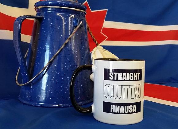 Straight Outta Hnausa Mug