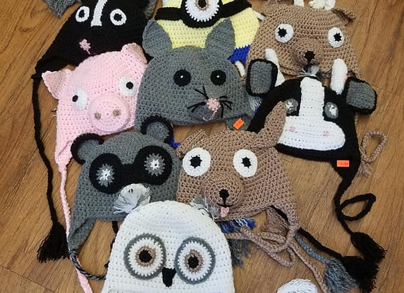 Animal Knitted Hats
