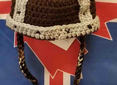 Viking Hat Knitted
