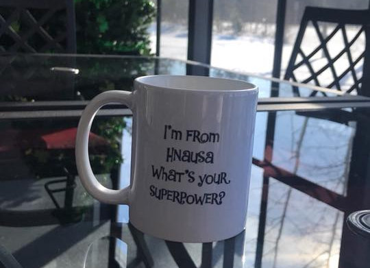 Hnausa Superpower Mug
