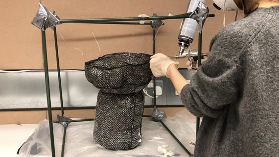making foam stool
