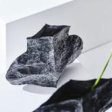 poly vase-black