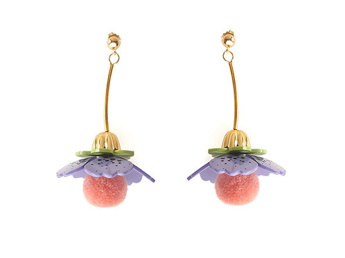 Violet Earrings