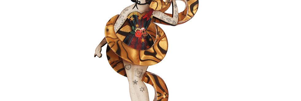 Broche Domadora de serpientes