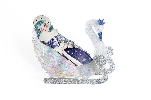 Broche La Reina de las Nieves