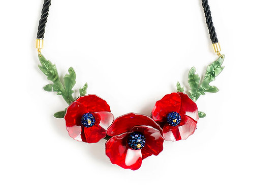 Poppies Necklace