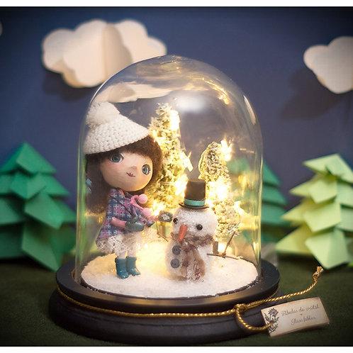 My friend snow lamp