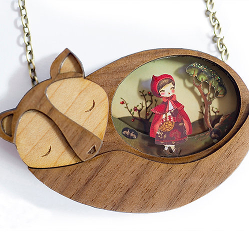 Red Riding Hood necklace