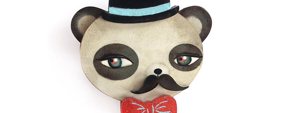 Broche Oso panda
