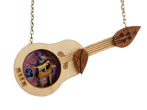 The Bremen Town Musicians necklace