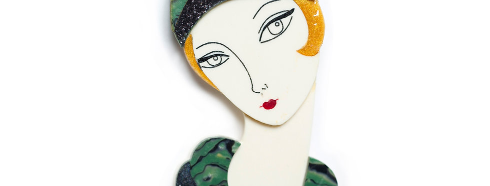 Broche Flapper Thelma