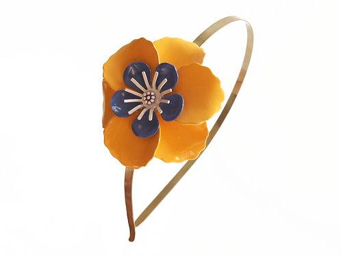 Diadema Orange Flower