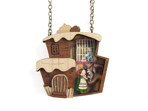 Hansel and Gretel Necklace