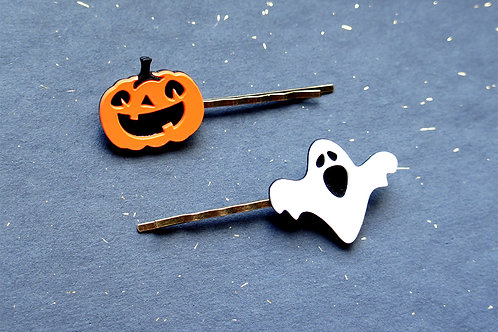 Halloween Hairpins
