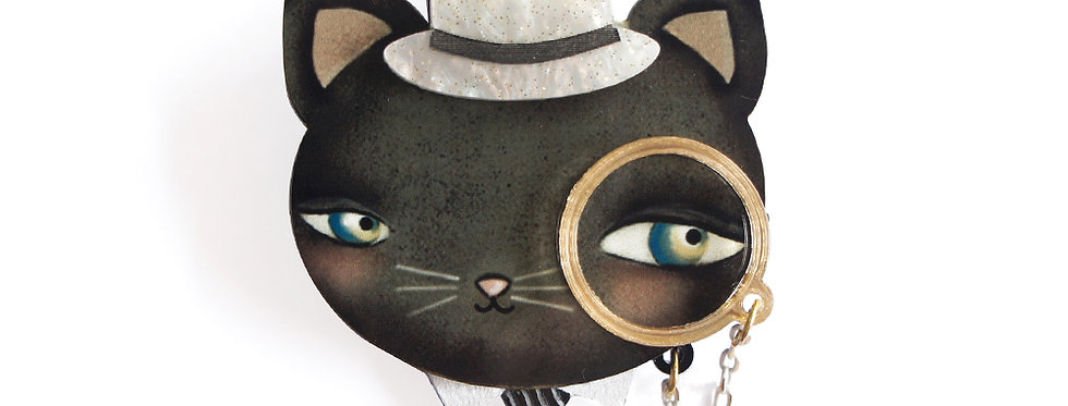 Broche Gato