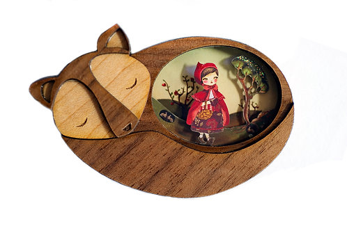 Small wall picture Little Red Riding Hood