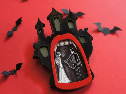 Dracula. Brooch or Necklace