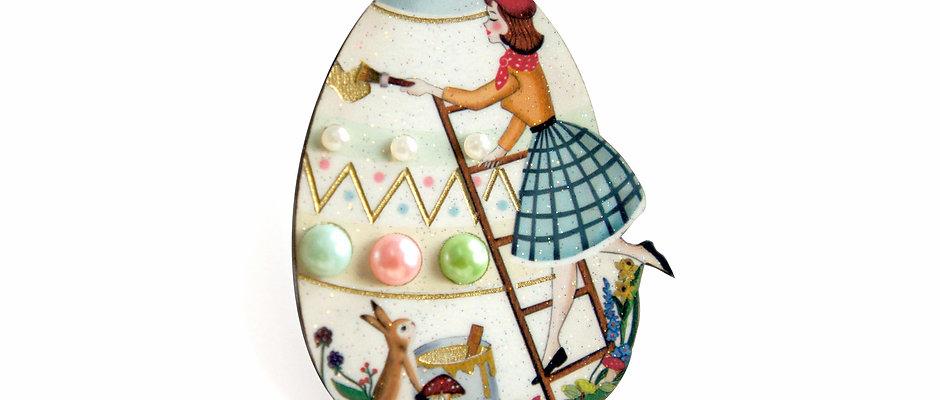 Broche Huevo de Pascua