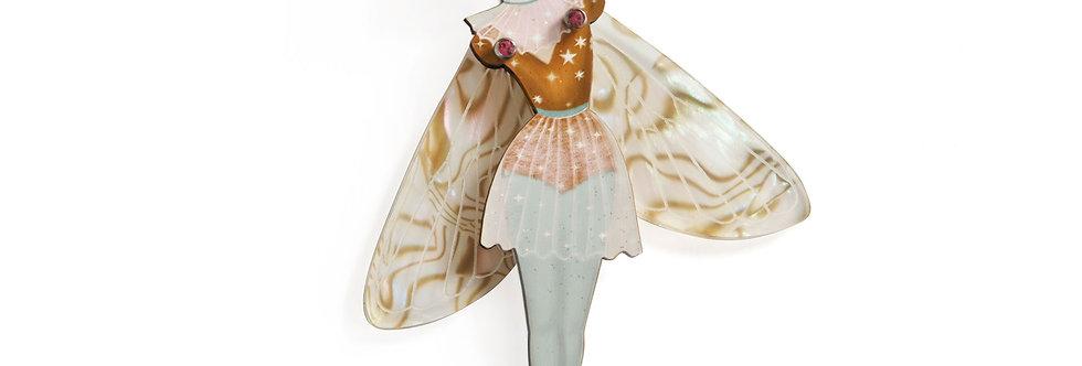 Broche Mujer mariposa